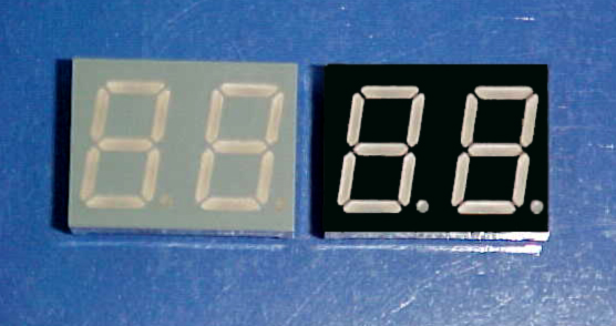 DUAL DIGIT LED DISPLAYS